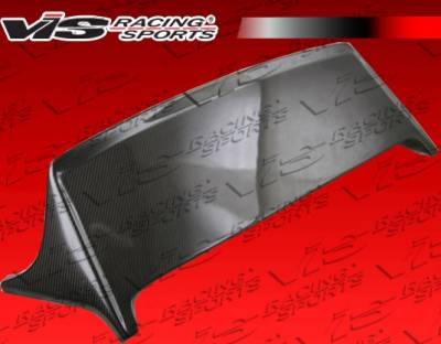 VIS Racing - Honda Civic HB VIS Racing Z-Speed Carbon Roof Spoiler - 88HDCVCHBZSP-023C