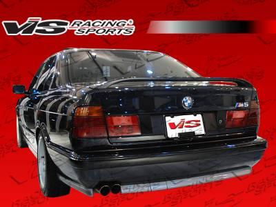 VIS Racing - BMW 5 Series VIS Racing M5 Spoiler - 89BME344DM5-003