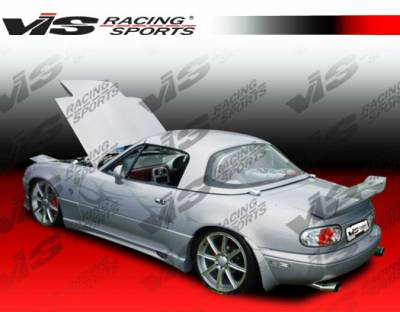 VIS Racing - Mazda Miata VIS Racing Wizdom Spoiler - 90MZMX52DWIZ-003