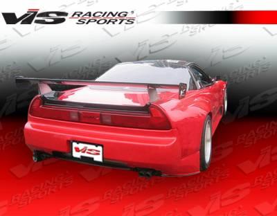 VIS Racing - Acura NSX VIS Racing FX Widebody Spoiler - Carbon Fiber - 91ACNSX2DFXWB-003C