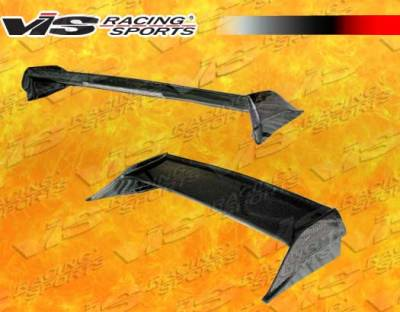 VIS Racing - Acura NSX VIS Racing Type-R Carbon Fiber Spoiler with LED Light - 91ACNSX2DTYR-003C