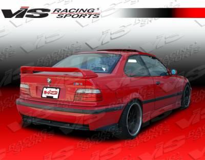 VIS Racing - BMW 3 Series VIS Racing Euro Tech I Spoiler - 92BME362DET1-003