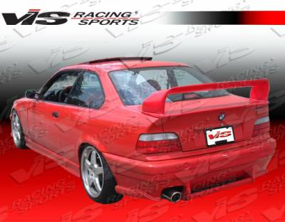 VIS Racing - BMW 3 Series VIS Racing Euro Tech II Spoiler - 92BME364DET2-003