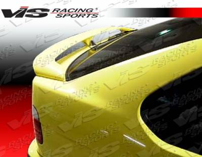 VIS Racing - BMW 3 Series VIS Racing Euro Tech Spoiler - 92BME36HBET-003
