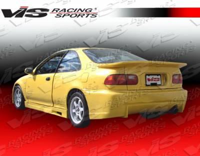 VIS Racing - Honda Civic 2DR VIS Racing Z1 boxer Spoiler - 92HDCVC2DZ1-003
