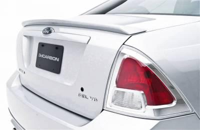3dCarbon - Ford Fusion 3dCarbon Deck Lid Spoiler without LED Light - 691208