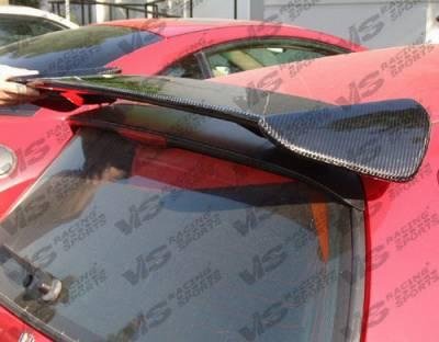 VIS Racing - Honda Civic HB VIS Racing Type-R Black Carbonfiber Spoiler - 92HDCVCHBTYR-003C
