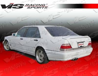 VIS Racing - Mercedes-Benz S Class VIS Racing Laser Spoiler - 92MEW1404DLS-003