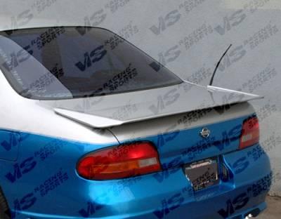 VIS Racing - Nissan Altima VIS Racing Techno-R Spoiler - 93NSALT4DTNR-003