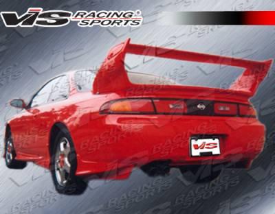 VIS Racing - Nissan 240SX VIS Racing Stalker Spoiler - 95NS2402DSTK-003