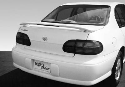 VIS Racing - Oldsmobile Cutlass VIS Racing 2 Leg Custom Style Wing with Light Blowmold - 53 inch - 960010L