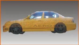 Bayspeed. - Toyota Corolla Bay Speed BMX Side Skirts - 1193BX
