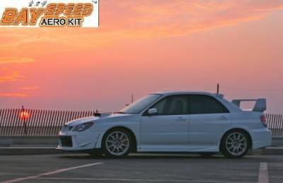 Bayspeed. - Subaru Impreza Bayspeed Zero Sport Style Side Skirts - 1194ZS
