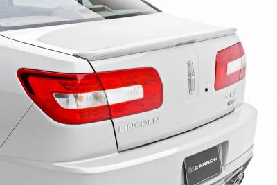 3dCarbon - Lincoln MKZ 3dCarbon Deck Lid Spoiler - No LED Light - 691239