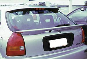 VIS Racing - Honda Civic HB VIS Racing Factory Style Spoiler without Light - 96HDCVCHBOE-003