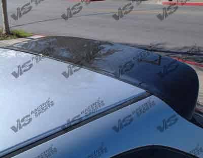 VIS Racing - Honda Civic HB VIS Racing Type-S Black Carbon Fiber Spoiler - 96HDCVCHBSPN-003C