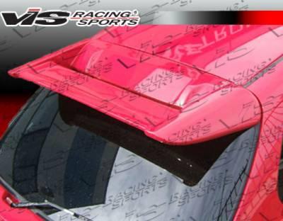 VIS Racing - Honda Civic HB VIS Racing Techno R Spoiler - 96HDCVCHBTNR-003