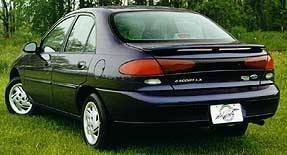 California Dream - Ford Escort California Dream Custom Style Spoiler - Unpainted - 11N2