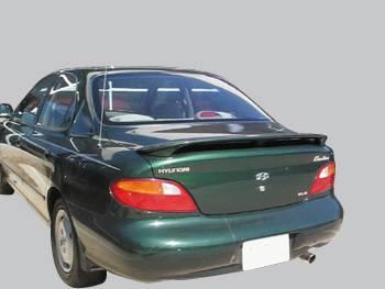 VIS Racing - Hyundai Elantra 4DR VIS Racing Factory Style Spoiler - 96HYELA4DOE-003