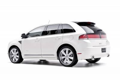 3dCarbon - Lincoln MKX 3dCarbon Chrome Exhaust Extensions - Pair - 691246