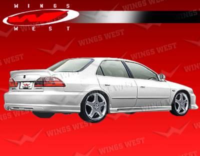 VIS Racing - Honda Accord 4DR VIS Racing JPC Spoiler - Polyurethane - 98HDACC4DJPC-003P