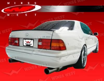 VIS Racing - Lexus LS400 VIS Racing JPC Rear Spoiler - Polyurethane - 98LXLS44DJPC-003P