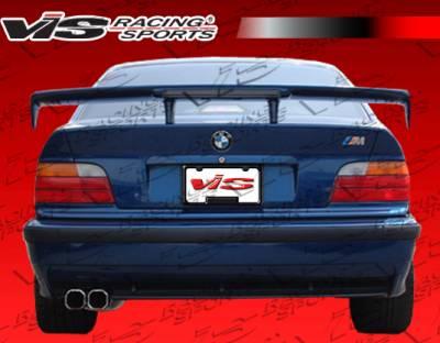 VIS Racing - BMW 3 Series 4DR VIS Racing DTM Rear Spoiler - 99BME464DDTM-003