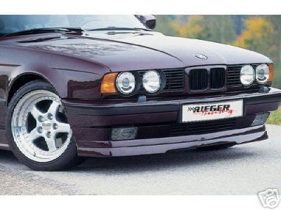 RIEGER - BMW E34 Rieger Front Lip