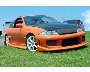 Bayspeed. - Chevrolet Cavalier 2DR Bay Speed Drift Side Skirts - 1260DR