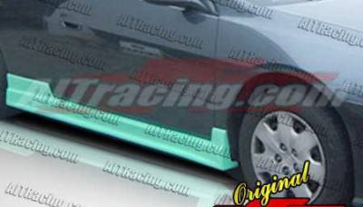 Bayspeed. - Honda Accord 2DR Bay Speed C-West Side Skirts - 1301CW