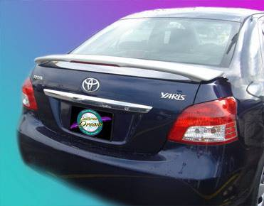 California Dream - Toyota Corolla California Dream Custom Style Spoiler with Light - Unpainted - 14L