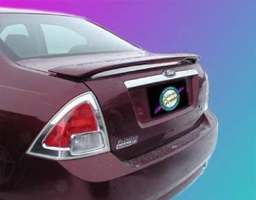 California Dream - Lincoln MKZ California Dream Custom Style Spoiler with Light - Unpainted - 14L
