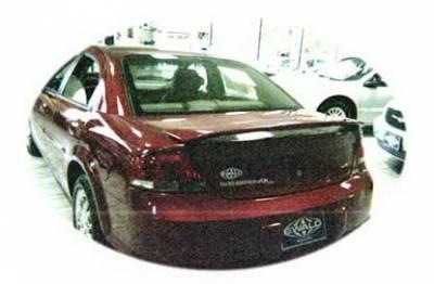 California Dream - Chrysler Sebring 4DR California Dream Custom Style Spoiler - Unpainted - 14N