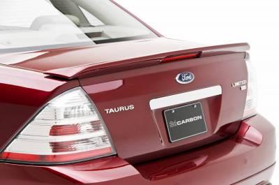 3dCarbon - Ford 500 3dCarbon Deck Lid Spoiler with LED Light - 691274