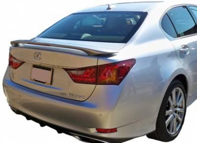 California Dream - Lexus GS California Dream Custom Style Spoiler with Light - Unpainted - 162L