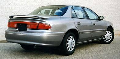 California Dream - Buick Lucerne California Dream Custom Style Spoiler with Light - Unpainted - 162L