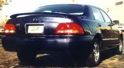 California Dream - Mazda MX6 California Dream Custom Style Spoiler with Light - Unpainted - 162L