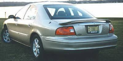 California Dream - Mercury Sable California Dream Custom Style Spoiler with Light - Unpainted - 162L