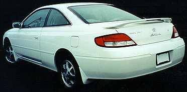 California Dream - Toyota Solara California Dream Custom Style Spoiler with Light - Unpainted - 162L