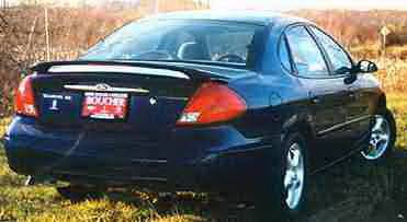 California Dream - Ford Taurus California Dream Custom Style Spoiler with Light - Unpainted - 162L