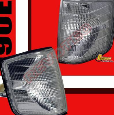 Custom - Clear Corner Lights - 190E