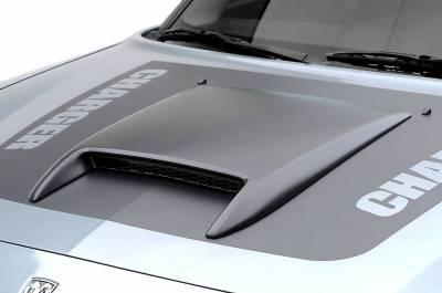 3dCarbon - Dodge Charger 3dCarbon Hood Scoop - 691301