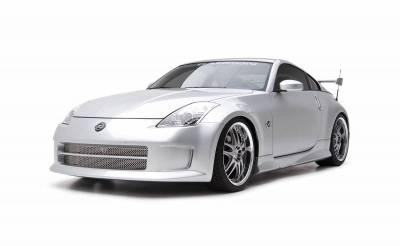 3dCarbon - Nissan 350Z 3dCarbon Front Bumper Replacement - 691401