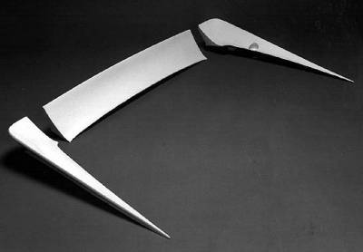 Wings West - WW Style 3pc Spoiler - No Light