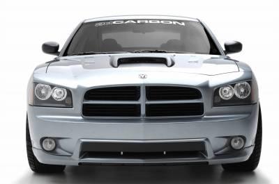 3dCarbon - Dodge Charger 3dCarbon Front Air Dam - 691527