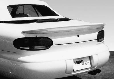 Wings West - WW Style Lip Spoiler - No Light