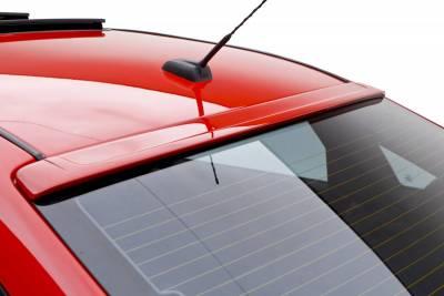 3dCarbon - Ford Focus 4DR 3dCarbon Upper Roof Spoiler - 691551
