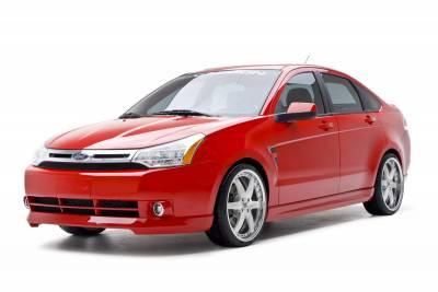 3dCarbon - Ford Focus 4DR 3dCarbon Body Kit - 6PC - 691554