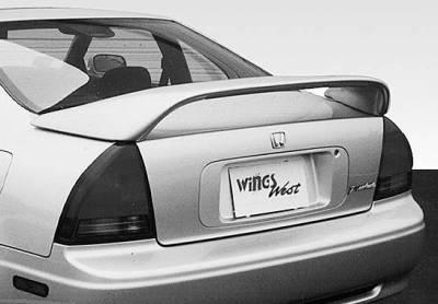 Wings West - Thruster Style Led Light Spoiler