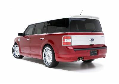 3dCarbon - Ford Flex 3dCarbon Rear Lower Skirt - 691577